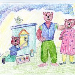 Осипов Вова, по сказке Три медведя