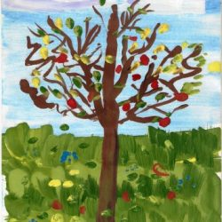 Дерево. Литвиненко Иван. 6 лет