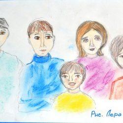 Демина Валерия.6 лет ДС 23 У Галины Павловны много детей....